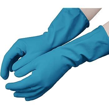 Guantes de menaje reutilizables de nitrilo Pack 1 par Talla S: Amazon.es: Salud y cuidado personal