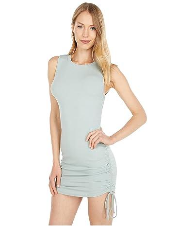 BB Dakota x Steve Madden Smokeshow Sleeveless Adjustable Rib Knit Mini Dress