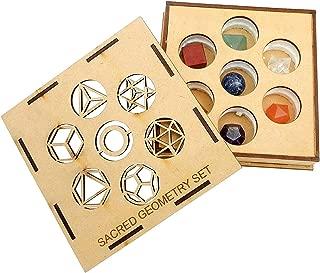 7 Chakra Sacred Geometry Set Geometric Shape Set Box - w/ exclusive Rock Paradise COA