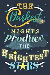 THE DARKEST NIGHTS PRODUCE THE BRIGHTEST STARS: A 90+ days guide To Develop an Attitude Of Gratitude| Grateful journal 5 m...