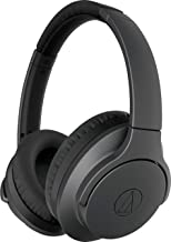 Audio-Technica ATH-ANC700BT QuietPoint Bluetooth Wireless Noise-Cancelling High-Resolution Audio Headphones, Black