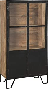 Signature Design by Ashley - Gabinwell Accent Cabinet - Black/Brown