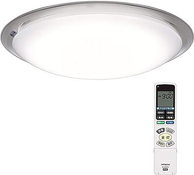 日立 LED シーリングライト 調光・調色 ~14畳 本体日本製 [ラク見え]搭載 エコセンサー付き 畳数基準値最大限の明るさ LEC-AHS1410K
