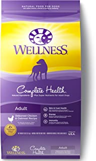 Wellness Complete Health Natural Dry Dog Food, Chicken & Oatmeal