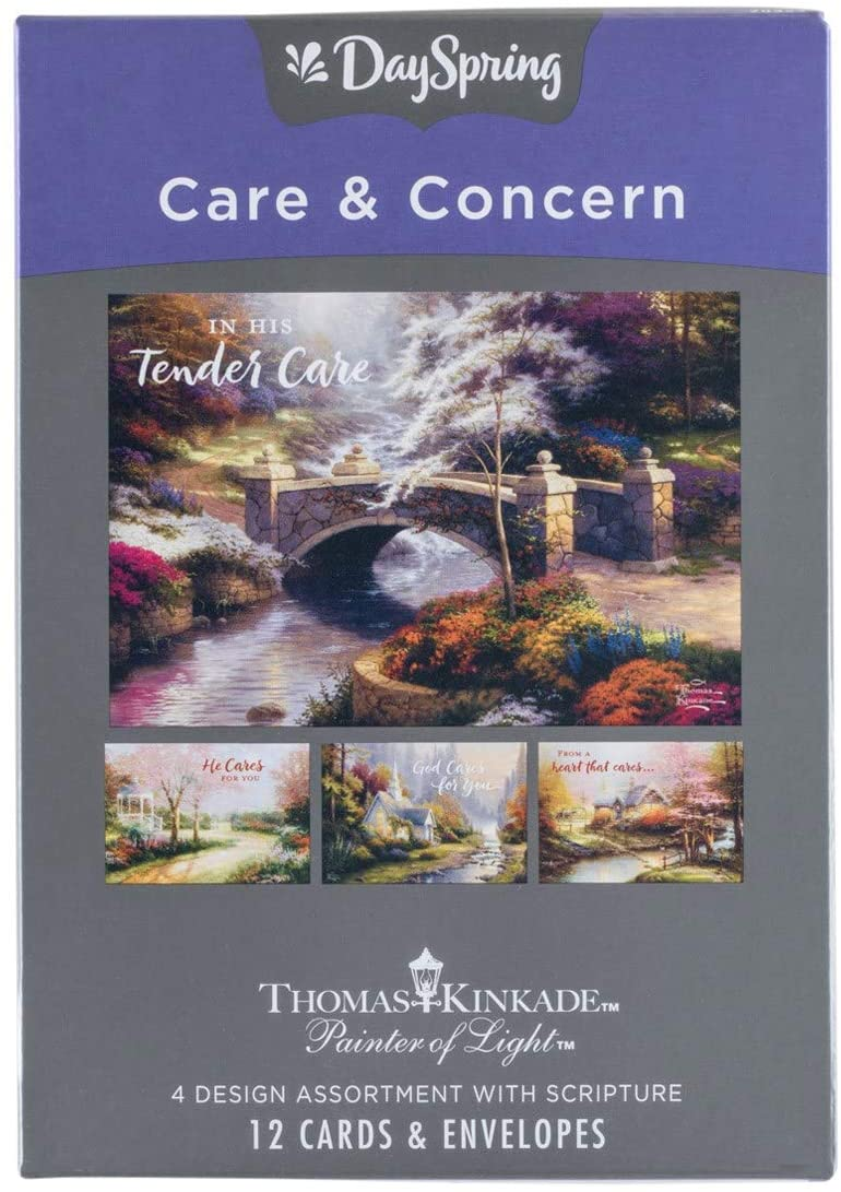 Care and Concern - Complete Free Shipping Award Boxed Cards Inspirational Tender