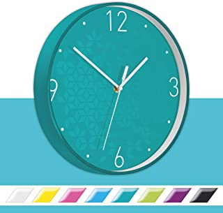 Leitz Wow Wall Clock Turquoise