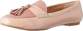 Dune London Women's Nude-Patent Loafers-6 UK/India (39 EU) (410099349004)