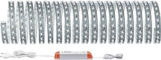 Paulmann 70830 taśma LED MaxLED 500 zestaw podstawowy wraz z 1 x 48,5 W przyciemniana taśma świetlna srebrna taśma świetln...
