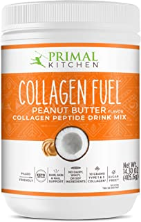 Sponsored Ad - Primal Kitchen Peanut Butter Collagen Fuel Drink Mix - Non-Dairy Coffee Creamer & Smoothie Booster- Support...