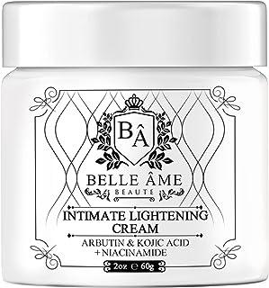 کرم روشن کننده پوست صمیمی - Belle Ame - برای هر جای بدن شما - زیر بغل ، زانوها ، ران ها ، آرنج ها ، باسن ها ، لکه های تیره (2 اونس)