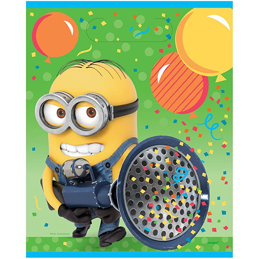 Despicable Me Minions Goodie Bags, 8ct