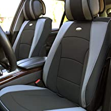 FH Group PU205GRAYBLACK102 Gray/Black Ultra Comfort Leatherette Front Seat Cushion..