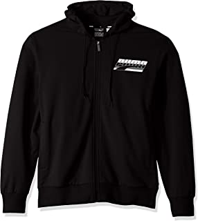 PUMA Men's Rebel Hooded French Terry Jacket,