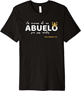 Grandfather Gifts in Spanish | Abuelo Camisas in Spanish