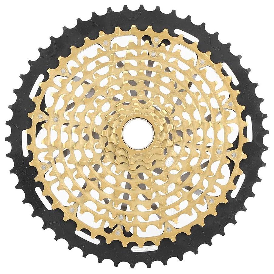風ストライク敬な自転車アクセサリー、安定したパフォーマンス超軽量高信頼性自転車フライホイール、サイクリングマウンテン自転車アクセサリー用
