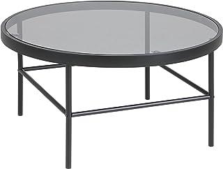 Amazon Brand - Movian Marcal - Mesa de centro 80 x 80 x 40 cm (largo x ancho x alto) gris