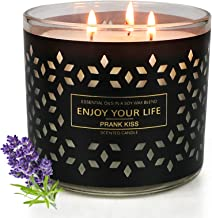Scented Candles for Home Scented, 14.5 oz Large Aromatherapy Candle with 125 Hour Burn Long Lasting, Soy Candles, 3 Wick S...
