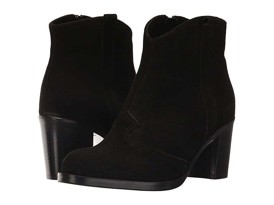 La Canadienne Peyton (Black Suede) Women