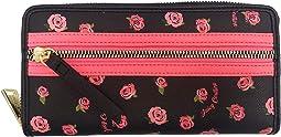 Black/Ditsy Rose
