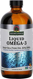 Nature's Answer Liquid Omega-3 Fish Oil (16 fl Oz) Gluten Free Dairy Free