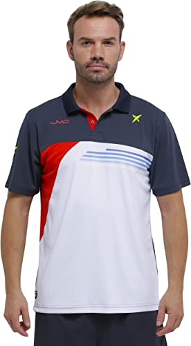 DROP SHOT Invictus Polo Technique de Tennis, Homme