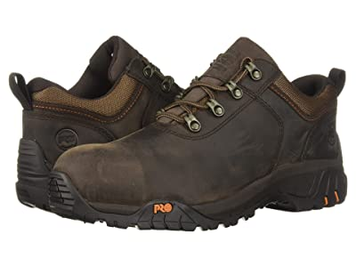 Timberland PRO Outroader Oxford Composite Safety Toe (Brown Full Grain Leather) Men