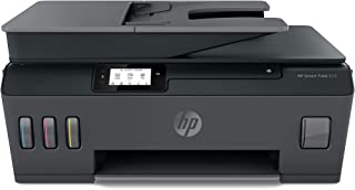 HP Y0F71A Smart Tank 615 Wireless, Print, Copy, Scan, Fax, Automated Document Feeder, All In One Printer - Black