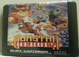 Games Cartridge - Gunstar Heroes For 16 bit Sega MegaDrive Genesis Sega Game console
