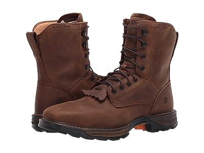 Durango Maverick 7 XPtm Waterproof Lacer Steel Toe (Russet Brown) Men