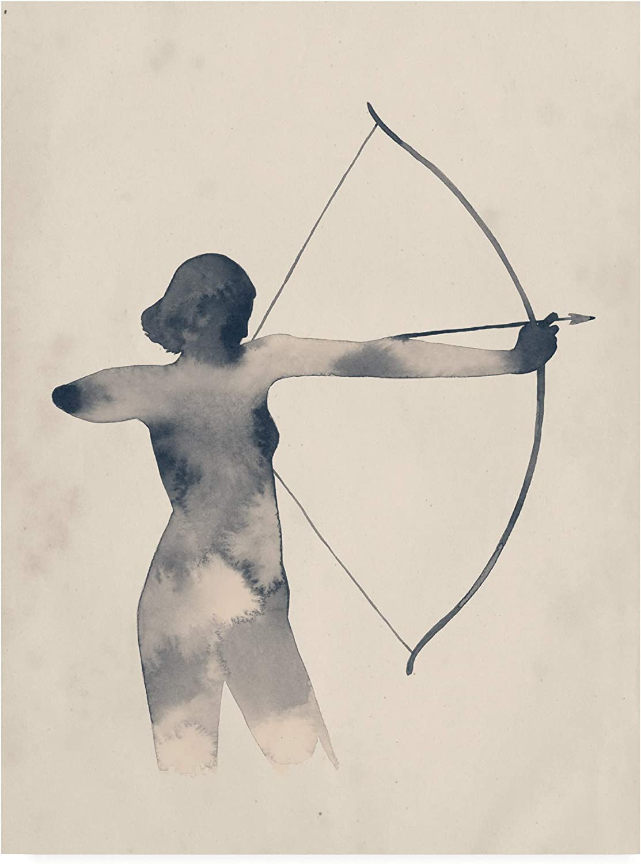 Trademark Fine Art Archeress I by Grace Popp, 14x19