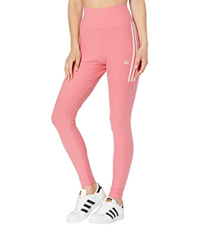 adidas Originals Fakten Tights (Hazy Rose Melange/White) Women