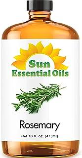 Rosemary Essential Oil (Huge 16oz Bottle) Bulk Rosemary Oil - 16 Ounce