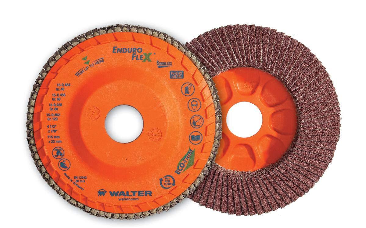 Atlanta Mall Walter 15Q706 ENDURO-FLEX Abrasive Flap Disc Sale SALE% OFF of - Pack 10 G 60