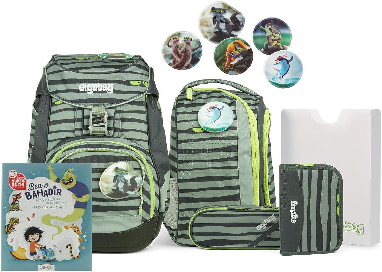 Ergobag pack Ranzenset mit Gratis Superbuch Bea BAHADIR Super Super Super NinBär B076Q5GGR7 | Queensland  1d9ba2