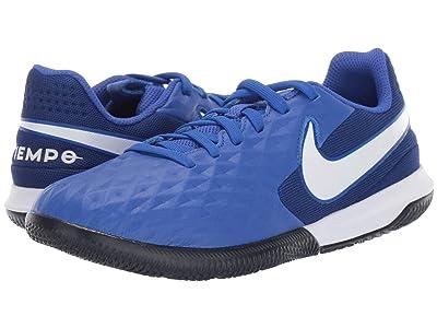 Nike Kids Jr Legend 8 Academy IC Soccer (Toddler/Little Kid/Big Kid) (Hyper Royal/White/Deep Royal Blue) Kids Shoes