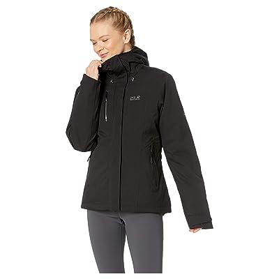 Jack Wolfskin Troposphere Waterproof Down Jacket (Black) Women