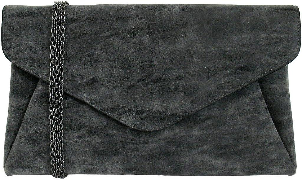 JNB Women's Faux Lether Max 69% OFF Pocket Envelop discount Double Clutch
