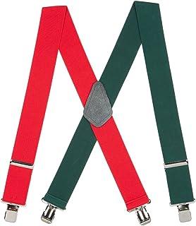 سیستم تعلیق مردانه قرمز و سبز سبز