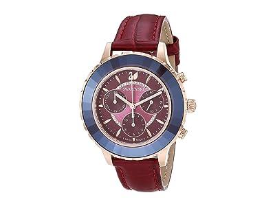 Swarovski Octea Lux Chrono Watch (Red) Watches