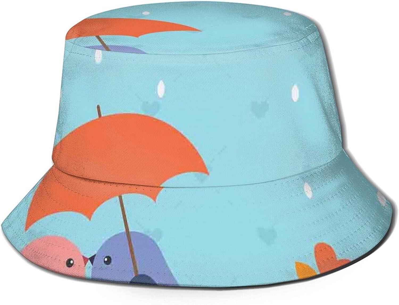 Cotton Packable Summer Travel Bucket Beach Sun Hat