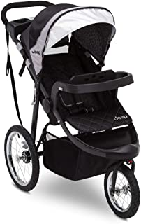 Best Jeep Deluxe Patriot Open Trails Jogger by Delta Children, Charcoal Tracks Review