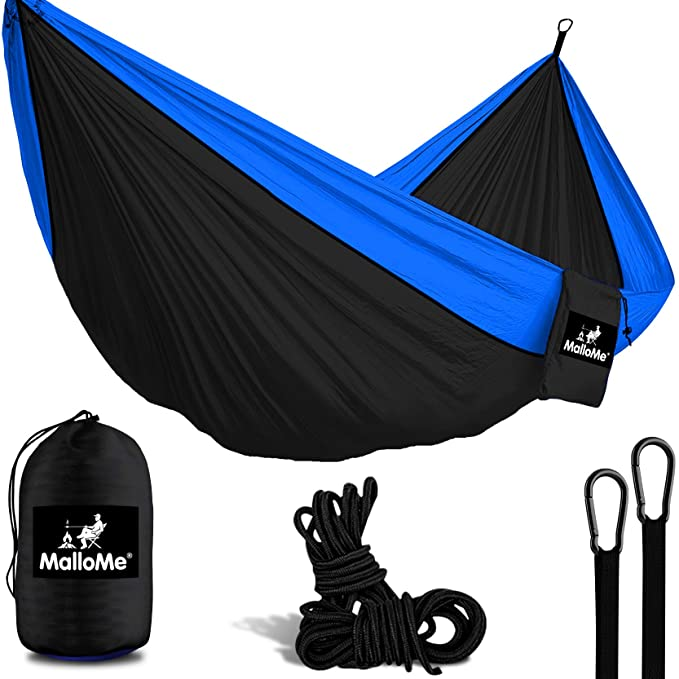 MalloMe Camping Hammock with Ropes – The Best Camping Hammock for Heavier People