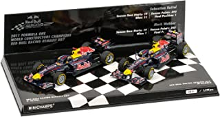 Red Bull Racing 1:43 Scale Renault RB7 F1 Champions 2 Car Set