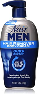 Nair For Men Hair Removal Body Cream 13 oz (Pack of 3)