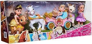 Disney Petite Doll and Jakks Petite Doll Pony and Royal Carriage Gift Set