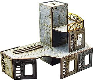 WWG Industry of War Multi-Level Elevator Tower – 28mm Wargaming Terrain Model Diorama