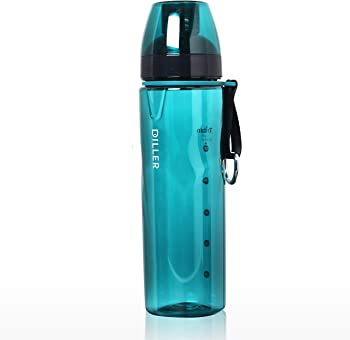 Diller 24 Oz Cycling Sports Water Bottle