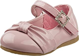Baby Girls Dressy Shoe with Bow (Infant/Toddler)