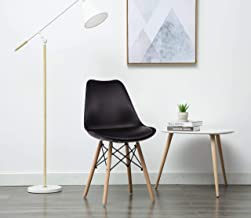 Savya home® by Apex Chair Contemporary Home Office Dining Chair Black