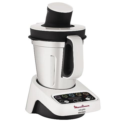 Moulinex HF404113 Robot de Cocina multifunción, Capacidad de 3 l, Interfaz intuitivo con 5 programas automáticos, 5 Accesorios, 1000 W